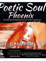 Poetic Soul-The Ultimate Spolen Word Poetry Experience in Phoenix Wednesdays